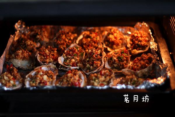蒜蓉烤生蚝
