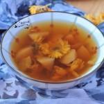 重阳节就要喝预防疾病的菊花水果汤