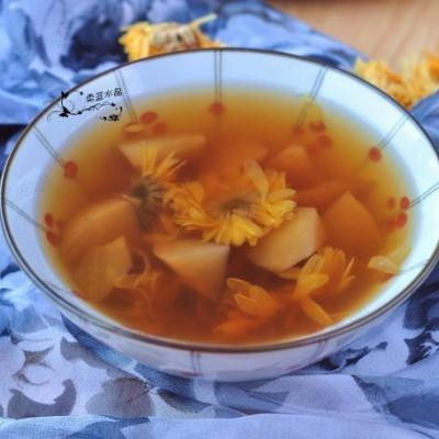 重陽節就要喝預防疾病的菊花水果湯