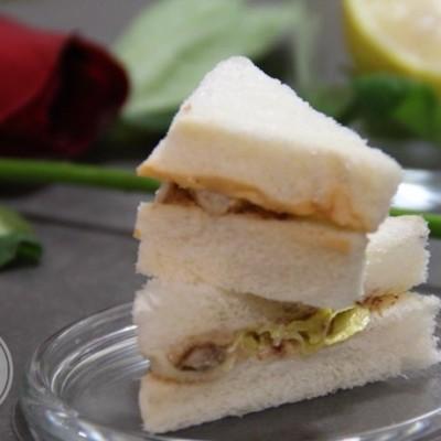 快手营养早餐-奶酪鳕鱼三明治