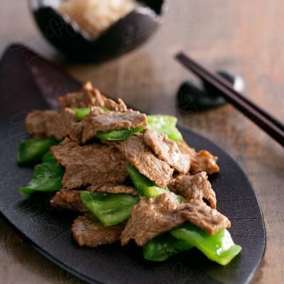 青椒牛肉片