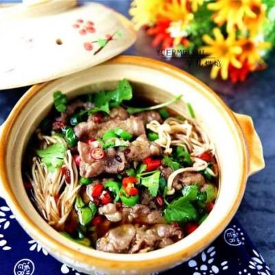 川菜-金针菇肥牛