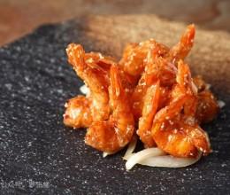 柠汁蜜糖脆皮虾