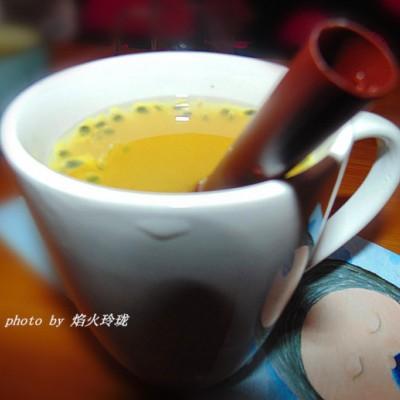 秋季润肺汤-胎菊百香果冰糖饮