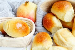 柠檬白脱小球面包