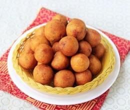 秋冬季零食炸芋头丸子