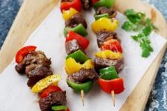 黑胡椒牛肉串