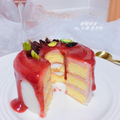 迷你蔓越莓醬汁蛋糕
