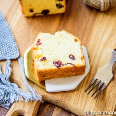 檸檬蔓越莓磅蛋糕