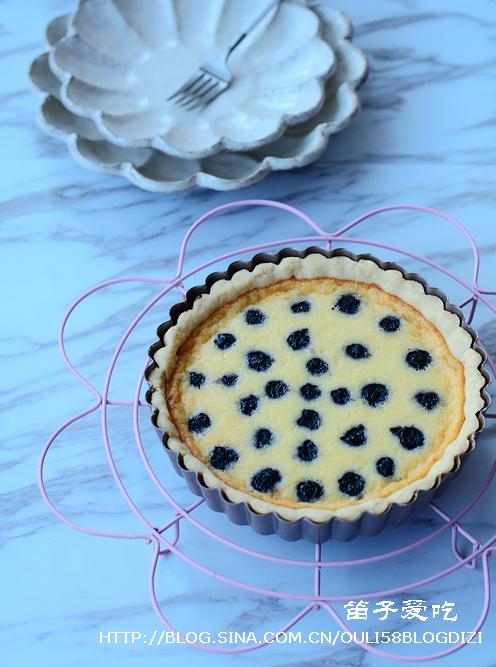 蓝莓乳酪派