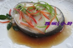 清蒸阿拉斯加黑鳕鱼