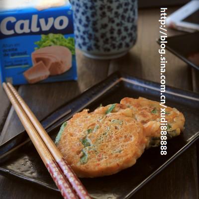 金枪鱼泡菜小饼