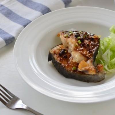 豉油黑鱈魚