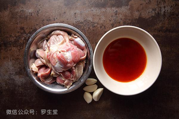 红油鸡胗子