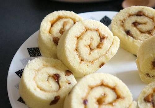 红枣柚子蛋糕卷