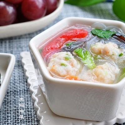 鱼丸粉丝汤