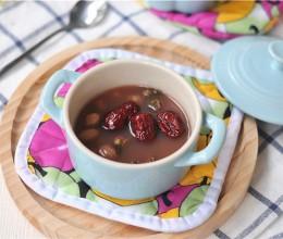 红枣花生玫瑰汤