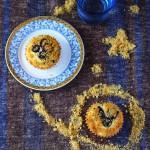 金頂藍莓爆漿馬芬