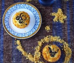 金顶蓝莓爆浆马芬