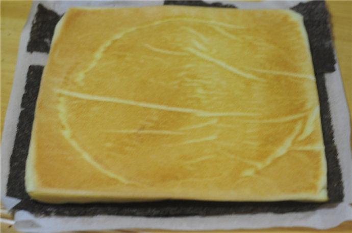 紫菜肉松蛋糕卷