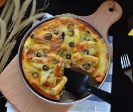 银鳕鱼披萨