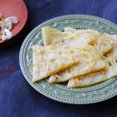 奶酪土豆丝薄饼