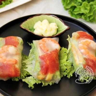 有机生菜越南春卷