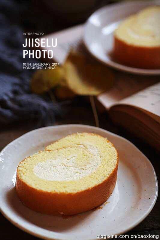 无油酸奶蛋糕卷