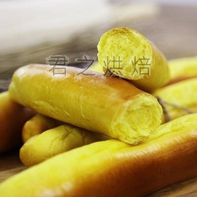 南瓜奶棒面包