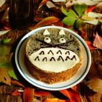 龙猫黑芝麻戚风蛋糕