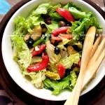 蔬菜油醋汁沙拉