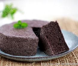 黑米芝麻蒸糕