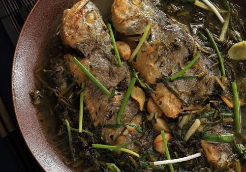雪菜煮小黄花鱼