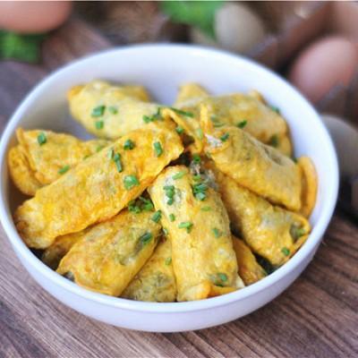 蔬菜鸡蛋饺子