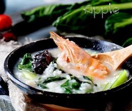 咸肉海鲜菜粥