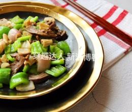 青椒炒鹅杂