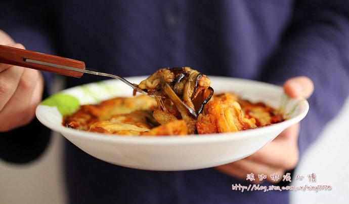 翡翠镶蛋&乳酪焗烤茄子