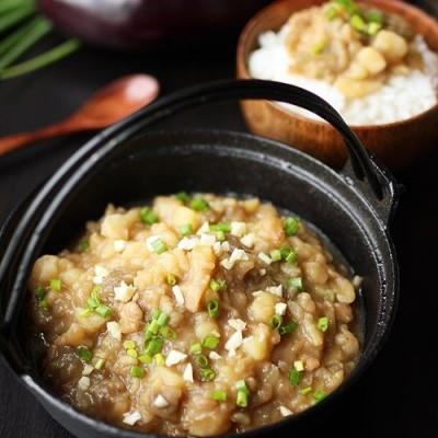 东北菜-土豆炖茄子