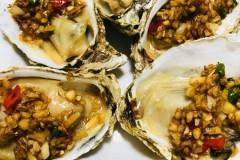 蒜蓉烤牡蛎