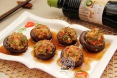 香菇鲜虾盏