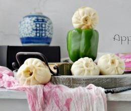 青椒香菇生煎包