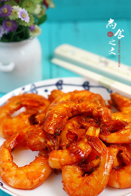 台式柠檬虾