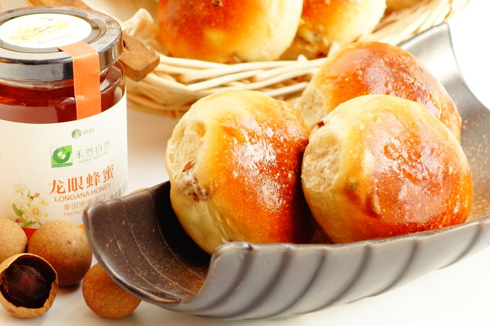 龙眼蜂蜜小餐包