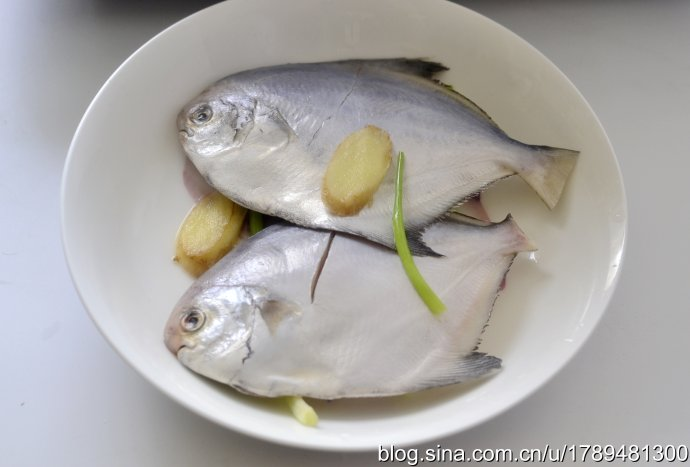 清蒸小鲳鱼