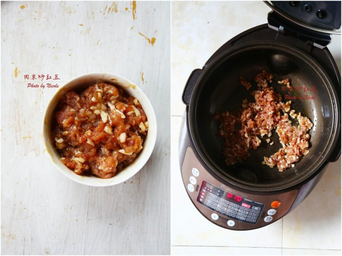 肉末炒豇豆