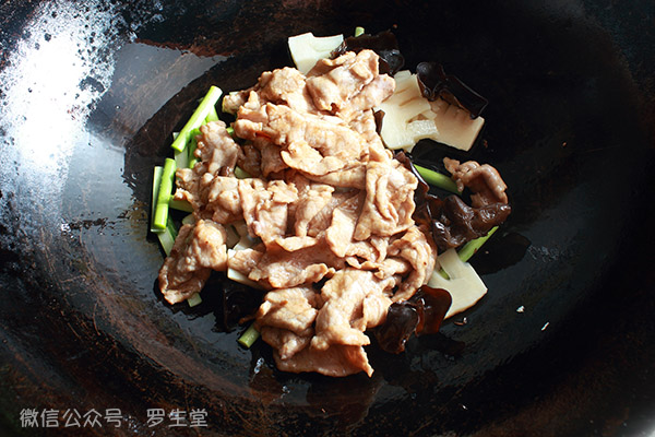 山西名菜过油肉