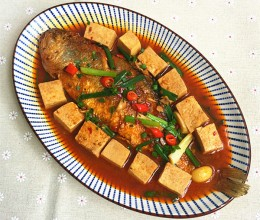 冻豆腐烧大黄鱼