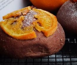 蜜香橙巧克力面包