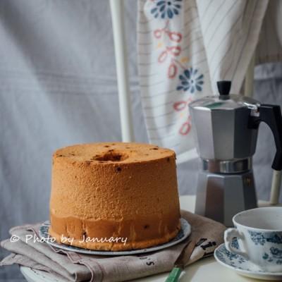 蔓越莓戚风蛋糕