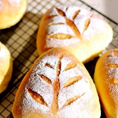 南瓜全麦软欧面包